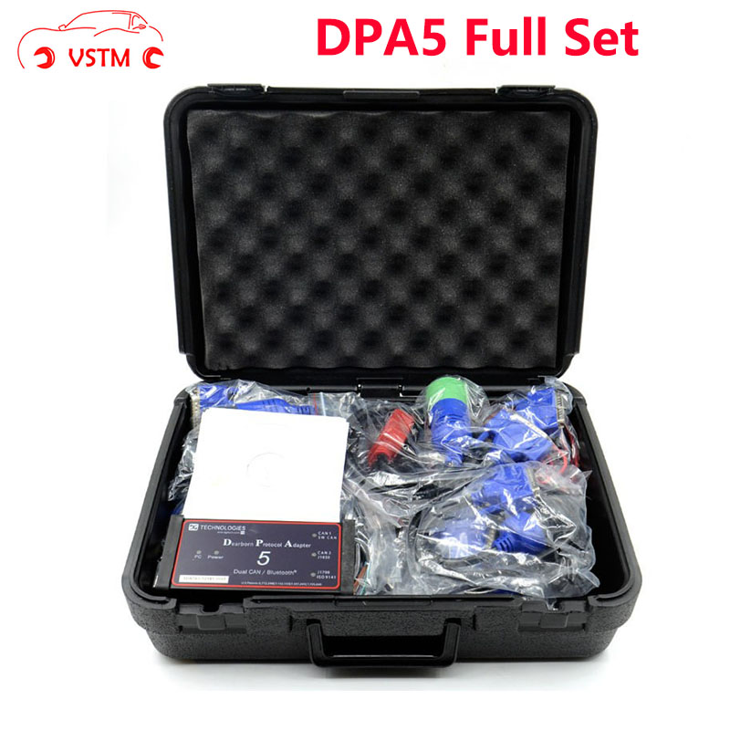 VSTM DPA 5 Diesel Truck Diagnostic Scanner Tool Full Set DPA5 Dearborn Protocol Adapter 5 Commercial