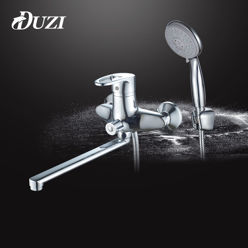 DUZI 1 Set Shower Faucet Bathroom Tap Cold and Hot Water Mixer Wall Mounted Cold and Hot Single Handle Bath Mixer Torneira D5121 3 litres of water bag military usmc tactical combat molle rrv chest rig paintball harness airsoft vest multicam