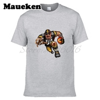 Mężczyźni Steamroller Pittsburgh Steelers Steeler Koszulka Ubrania Skrótu Rękawa T KOSZULA męska Moda W0120002
