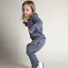 Bébé Vêtements Chandail Ensembles Automne Filles Vêtements Définit Sport Suit Toddler Cothing Bébé Garçon Vêtements Ensemble Vêtements pour Nouveau-nés Fille
