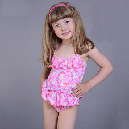 Mermaid high waist bathing suit with polka dot ruffle top for little girl's. Find this Pin and more on Bathing suits for little girls by Alison Lombardo. Details Summer's not over yet, and this amazing high-waist is the just the right amount of pink & polka dots.