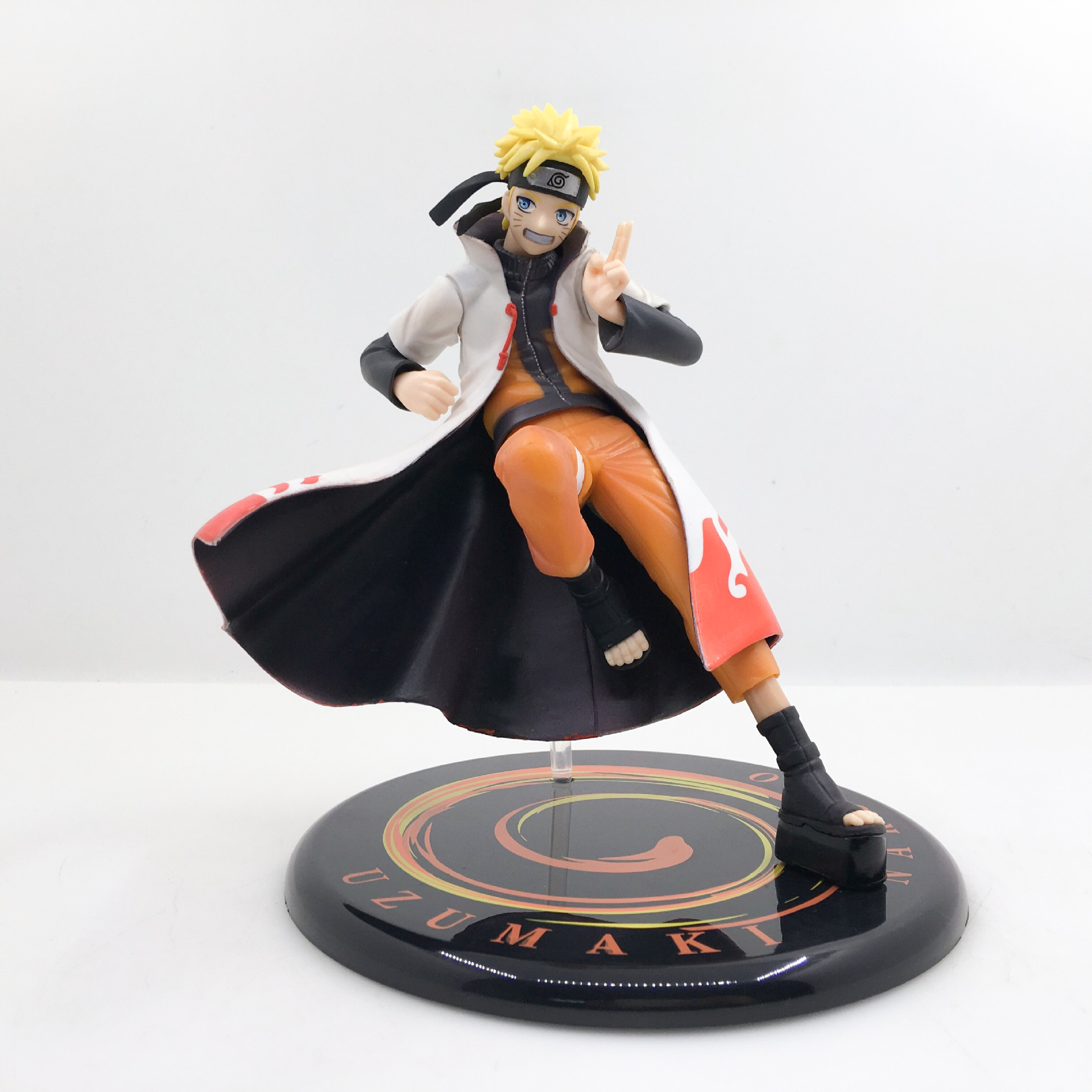 17cm Naruto Shippuden Uzumaki Naruto Yondaime Face Changeable Ver Model Anime Action Figure Collection Lovely Decoration Doll