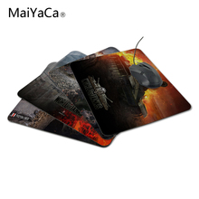 MaiYaCa Top Selling Luxury Print Hot 2017 World of Tank Game Gaming Durable PC Anti-slip Mouse Mat for Optical/Trackball Mouse