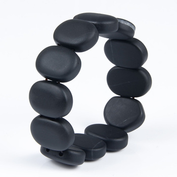 Bianshi Black Bian Natural Stone Bianshi Carve Black Bracelet For Men&Women jewelry
