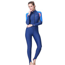 Perimedes wetsuit Diving Suits Women UV Protection Multi-functional Sunscreen One-Piece Full body Long Sleeve Swimsuit#g45(China)