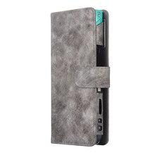 JINXINGCHENGกระเป๋าป้องกันผู้ถือกระเป๋าสตางค์ผู้หญิงสำหรับIqos 2.4 Plus PUหนัง