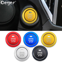 цена на Ceyes Car Engine Start Stop Button Ring Styling Stickers Auto Accessories Case For Subaru BRZ Impreza XV Forester Outback Legacy