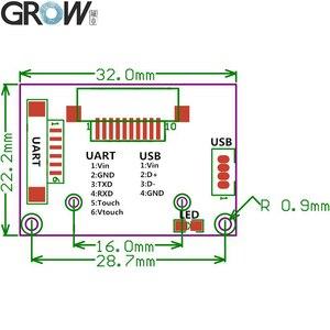 Image 5 - GROW R311 Big Size Sensor Area Capacitive Fingerprint Access Control Module Scanner For Arduino