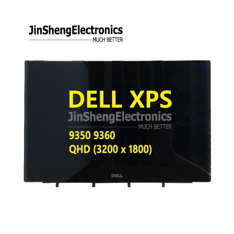 Pour Dell XPS 9350 9360 13.3 écran LCD d'ordinateur portable affichage QHD Remplacement D'écran D'AFFICHAGE À CRISTAUX LIQUIDES avec assemblage tactile 0RXN49 40pins
