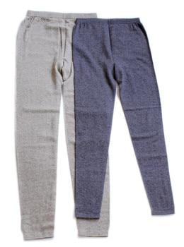 pure goat cashmere knit women winter basics leggings warm skinny pants bottoming trousers for unisex EU/L-2XL