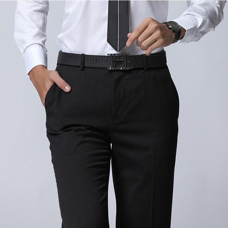 manica Pantaloni Vestito uomo Fit coreano stile nero da Business lunga Slim Nuovo da a uomo 2016 b7yY6gf