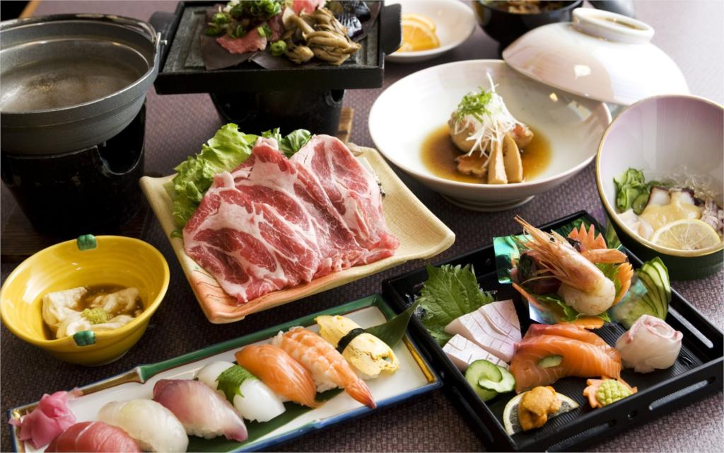 Food SUSHI japanese food rice japan <font><b>asian</b></font> oriental 1sushi fish seafood 048 4 Sizes <font><b>Home</b></font> <font><b>Decor</b></font> Canvas Poster Print