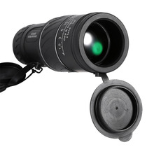 Открытый 40x60 Ясность HD видения Карманный телескоп Монокуляр телескоп низкий уровень ночного видения зеленая пленка оптика телескоп