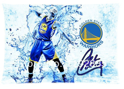 Customize Sport Star Stephen Curry Background For Zippered