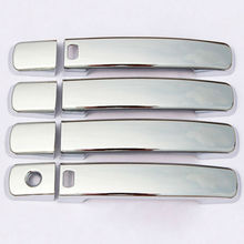 8pcs/set ABS Chrome Door Handle Cover Trim w/ Smart keyhole for Nissan Qashqai 2007 2008 2009 2010 2011 Exterior Car Accessories