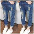 kids Boys Girls Jeans Pants Fashion Ripped Jeans Children Denim Pants Casual Style Jeans For Girls