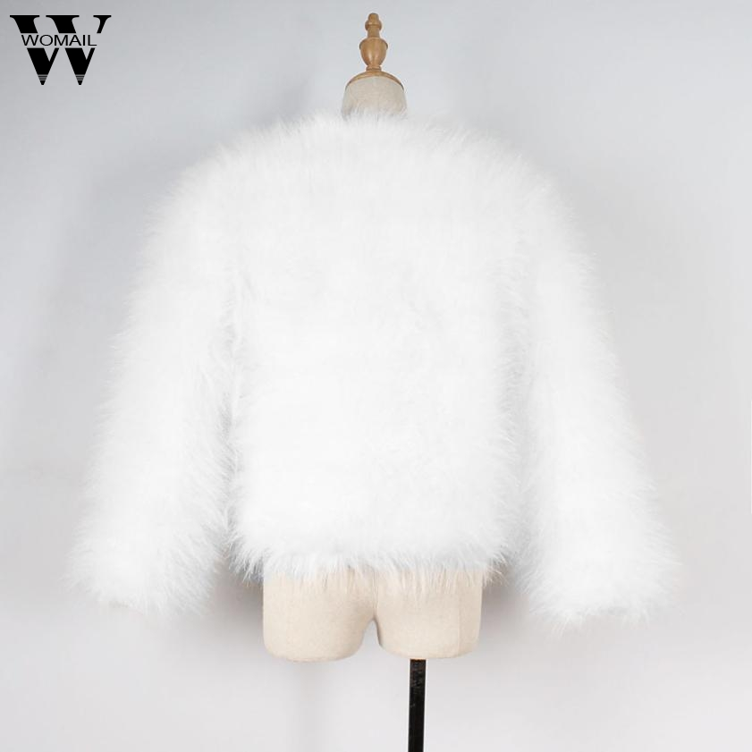 Moelleux Xmax b Fourrure Jean A Plume Manteau En Vestes Womail Fausse Hiver Nov15 Femmes Douce Veste 7qwawA4Pp