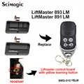 4 taste Türöffner Fernbedienung Sender für Handwerker LiftMaster Garage Tür Fernbedienung für 891LM 893LM