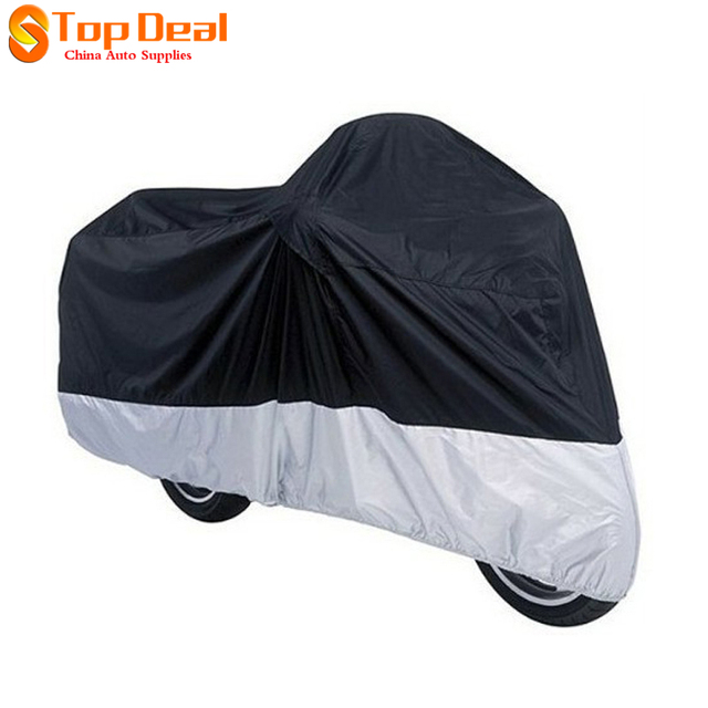 XL Large Motorcycle Waterproof Dust Rain Vented Cover 230 x 95 x 125cm for Motor / Bike / Scooter