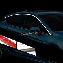 8 ШТ. Стали Внешняя Сторона Двери Верхнего Окна Молдинги Для Opel Astra 2015-2017 Хэтчбек