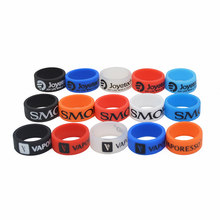 Vape band for SMok Vaporesso Joyetech tank atomizer silicone ring protection e cigarette mechnical mod 21mm vape bands rings(China)