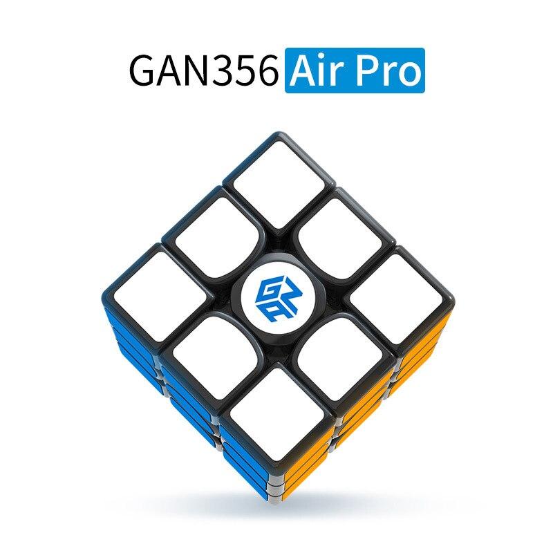 GAN 356 AIR Pro 3x3x3 Cube magique 5.6 CM vitesse douce torsion Puzzle Cube professionnel maître compétition néo Cube pour enfants jouet