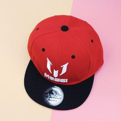 Niños hip hop sombreros Ronaldo Messi Neymar gorra de béisbol sombreros  niños niñas hombre SnapBack sombreros hip hop gorras casquillo de los niños  en ... 59820aca225