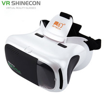 3D VR Virtual Reality Headset Mobile 360 Degrees Video Private Cinema Glasses Helmet With AR Augment Reality Window