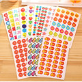 10Sheets/Lot Cute Emoji Sticker Children Smile Face Reward Funny Stickers School Merit Praise Sticky Paper Learning Stationery