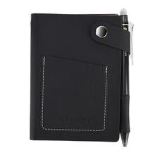 Elfinbook Mini Smart Herbruikbare Uitwisbare Faux Lederen Notebook Papier Notepad Dagboek Journal Kantoor School Reizigers Als Rocketbook