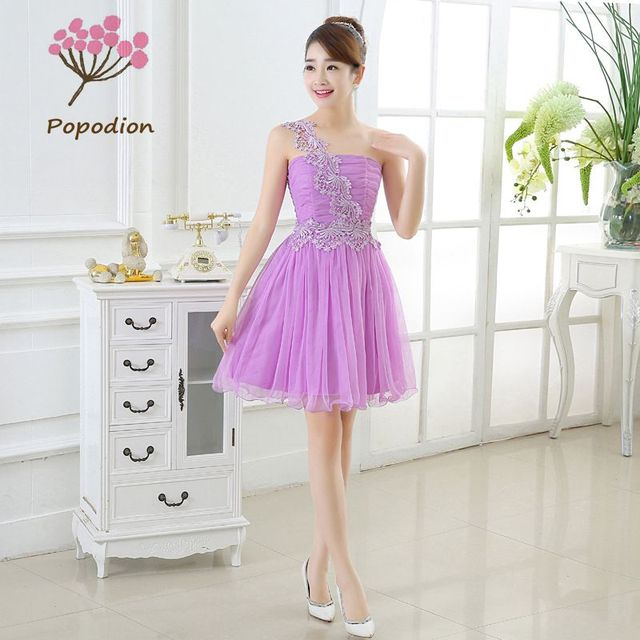 bridesmaid dresses short for wedding guests sister party formal ...