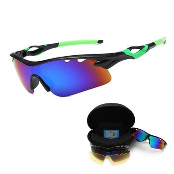 b6110a3ff3 2018 nuevas gafas polarizadas de bicicleta para deportes al aire libre gafas  de sol para ciclismo gafas de sol para bicicleta gafas de bicicleta 5 lentes