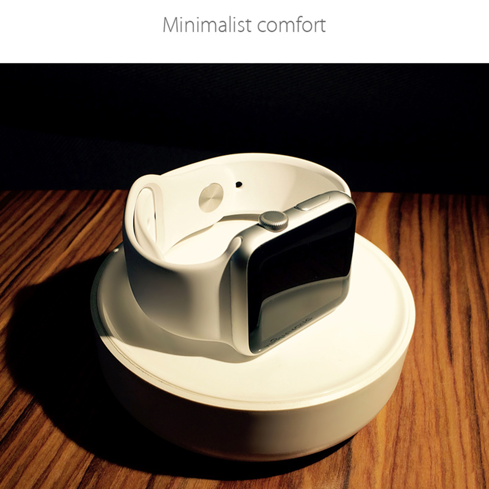 <font><b>Watch</b></font> Charging Dock Charger Stand Holder wireless Portable With Cable <font><b>Winder</b></font> for Apple <font><b>Watch</b></font> charger Series <font><b>3</b></font> <font><b>2</b></font> 1 42mm 38mm image