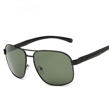 2016 Square Aluminum Polarized Men Sunglasses Mirror Driving Male Sport Sun Glasses Goggle Eyewear Accessories Lunette De Soleil