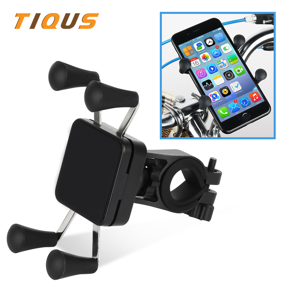 Bicycle Accessories Universal 360 Rotating Bicycle Phone Holder Motorcycle Handlebar Clip Stand Mount Smart Mobile Cellphone Bracket