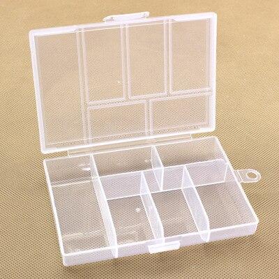 6 cells Plastic Transparency Box jewellery box  box in Box-princess  Storage Tin