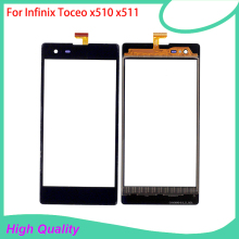 Touch Screen For Infinix Toceo X510 X511 Black Color Mobile