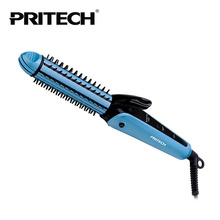 Buy PRITECH Brand 3 IN 1 Multifunction Hair Straightener Hair Curler Professional LCD For Salon Family Use