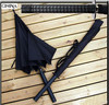 Black Automatic Oversize Umbrella Gift Umbrella Warrior Handle Creative Umbrella Samurai Sword Umbrella Free Shipping