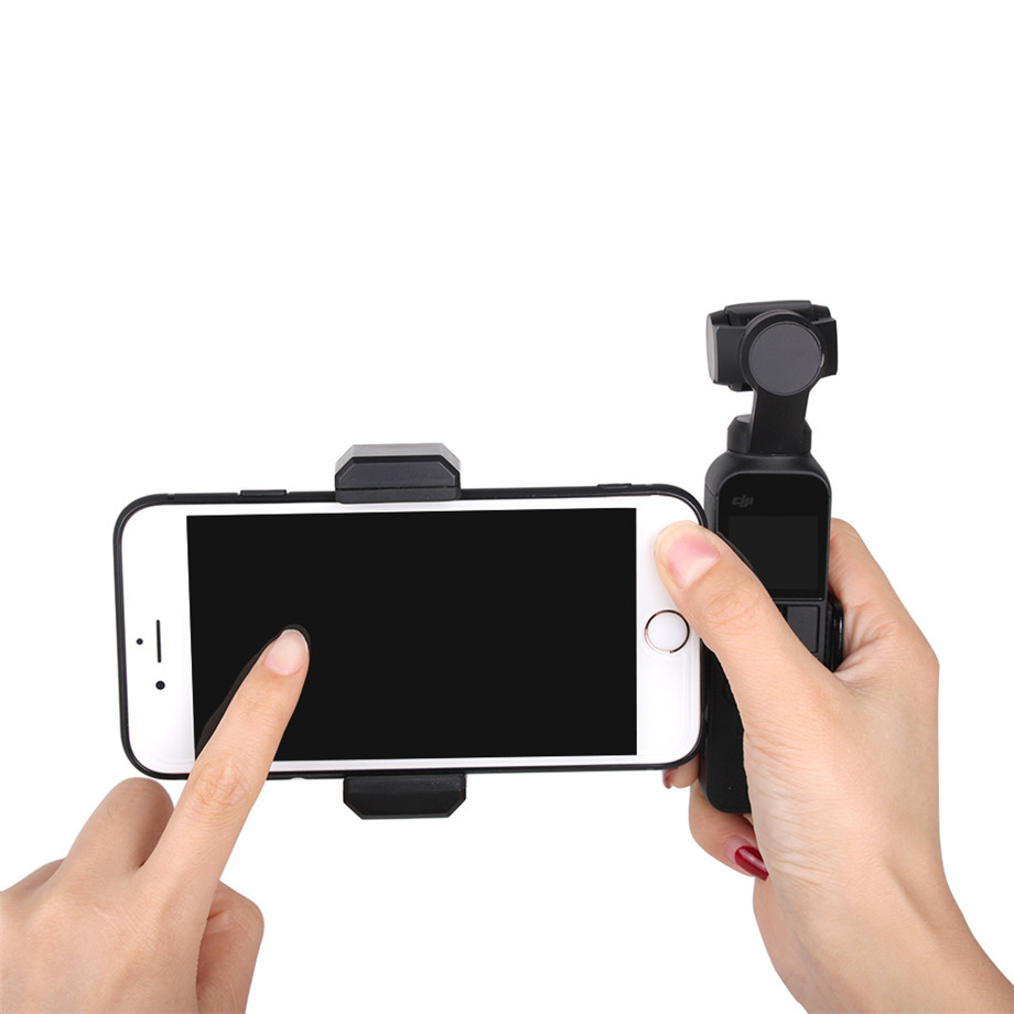 OSMO Pocket Smartphone Fixing Bracket Stand Clamp Extending Rod Tripod for DJI OSMO POCKET Gimbal Accessories 31