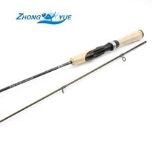 ¡ Promoción! línea de 1.8 M UL Lure1-5g 2-4lb caña de spinning caña de Pescar Polo Varilla de Carbono de Alta Calidad ultra light spinning Pesca Tac