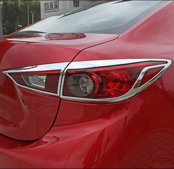 4pcs for Mazda 3 hatchback Axela 2017 Taillight Decorative frame