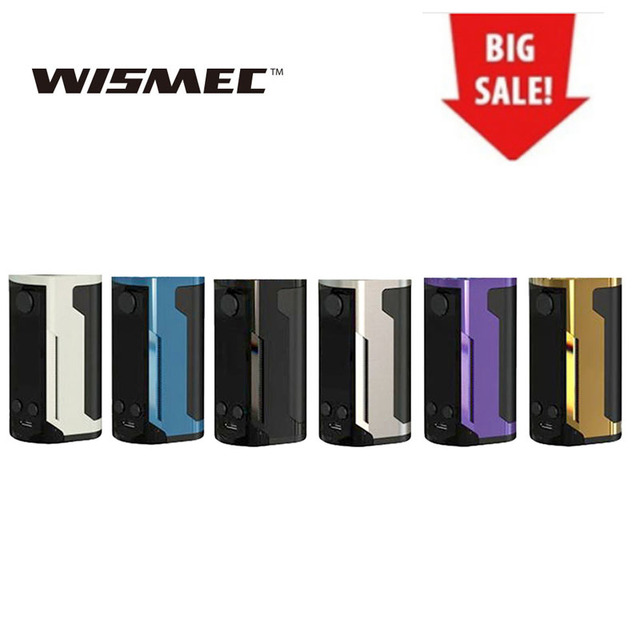 ขาย WISMEC Reuleaux RX GEN3 Dual 230 W TC Box MOD fit Gnome King ถัง 1.3 นิ้ว e - cig vape mod vs RX 200 Original