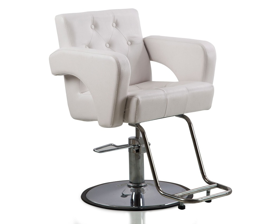Beauty Salon Chair Us 259 99 White Hydraulic Styling Barber Chair Hair Spa Beauty Salon Equipment In Barber Chairs From Furniture On Aliexpress Alibaba Group
