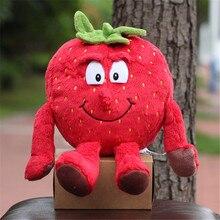 """Новые фрукты овощи чеснок гриб вишня Starwberry """" мягкая плюшевая кукла игрушка"""
