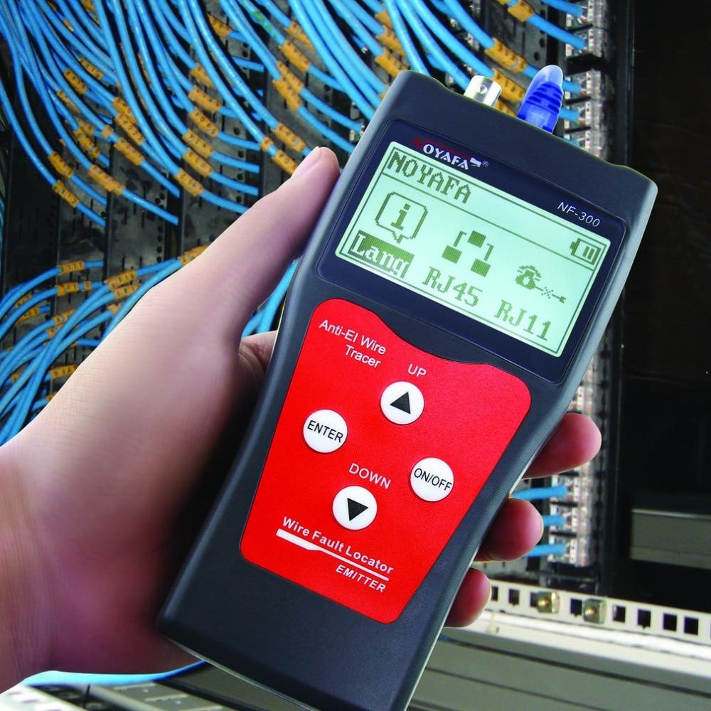 NOFAYA NF-300 professionnel LAN testeur RJ45 câble longueur testeur réseau surveillance fil Tracker Anti-interférence tonalité traceur - 2