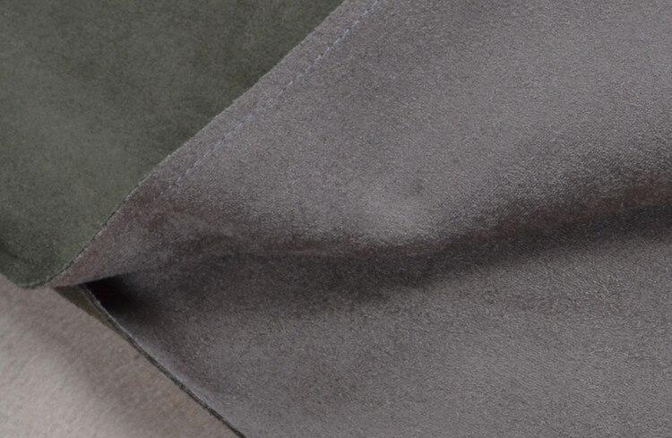Qualité Sigle Vert Longue Nouveauté Cerfs De Mode 2017 Manteau Et Haute Poitrine D'hiver Armée En Automne Cuir 7R4YAR