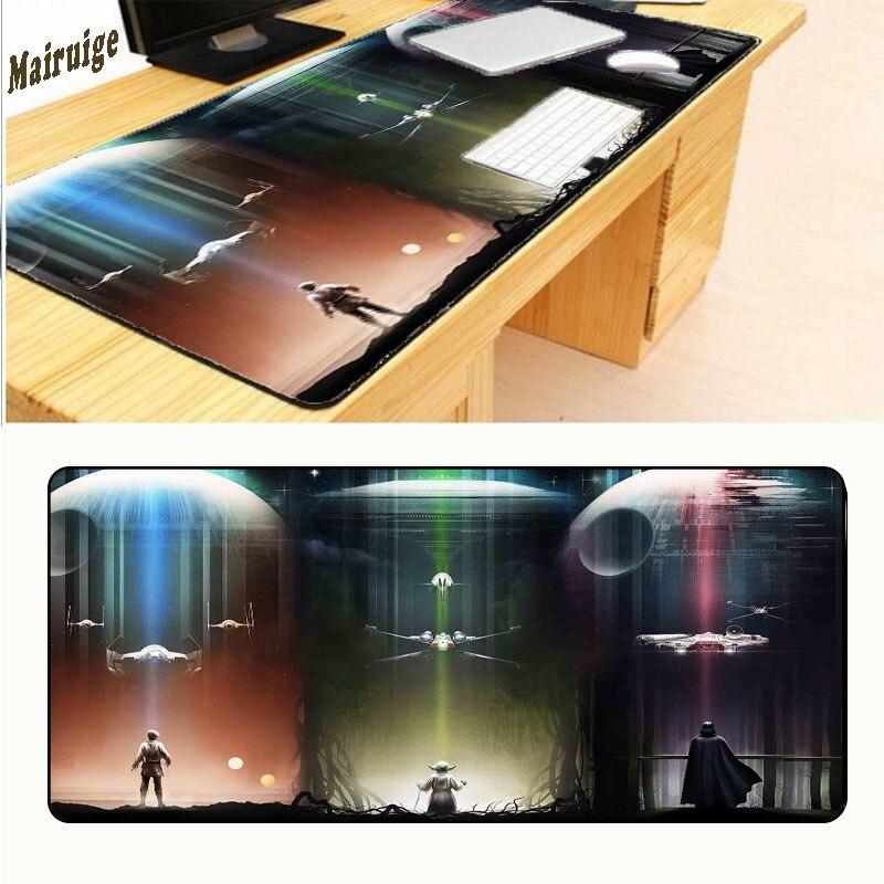 Mairuige Star Wars 700x300x3 мм Pad Мышь Notbook компьютер площадку Мышь HD и шаблон игровой Мышь Pad геймер к клавиатура Мышь коврики