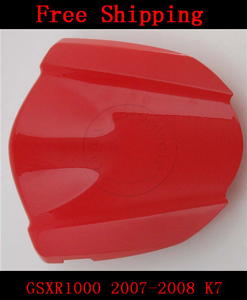 For Suzuki GSXR1000 2007-2008 K7 motorbike seat cover Brand New GSX R 1000 Motorcycle Red fairing rear sear cowl cover for suzuki gsxr1000 2005 2006 k5 motorbike seat cover brand new gsx r 1000 motorcycle carbon fairing rear sear cowl cover