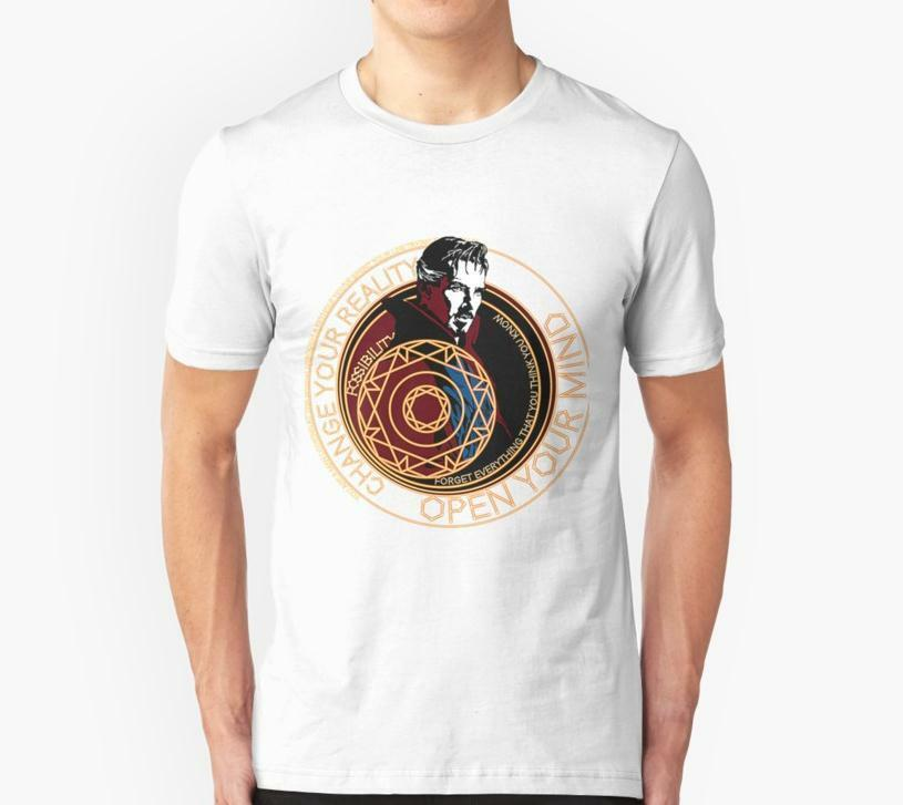 Dr. Strange <font><b>White</b></font> Tee <font><b>T</b></font>-<font><b>Shirts</b></font> Us Men'S Clothing Trend 2019 Latest O-Neck Sunlight Men <font><b>T</b></font>-<font><b>Shirt</b></font> <font><b>Blank</b></font> <font><b>T</b></font> <font><b>Shirts</b></font> image